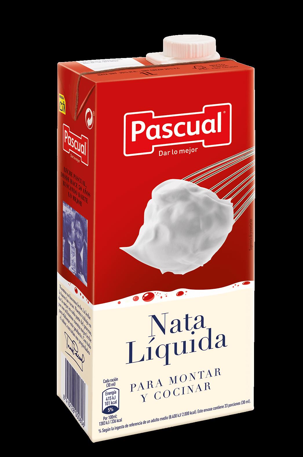 Nata líquida cocinar y montar Pascual