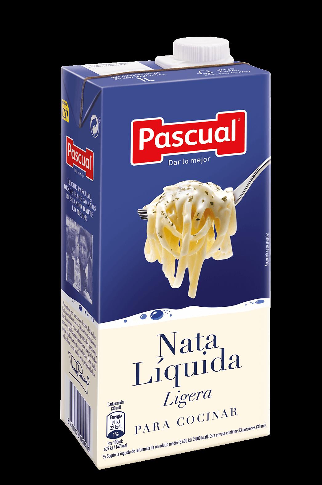 NATA liquida ligera cocinar Pascual