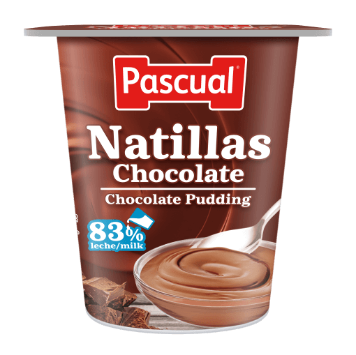 Natillas chocolate Pascual