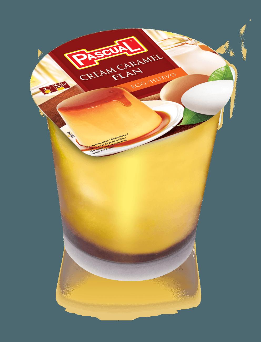 Flan de huevo - Leche Pascual
