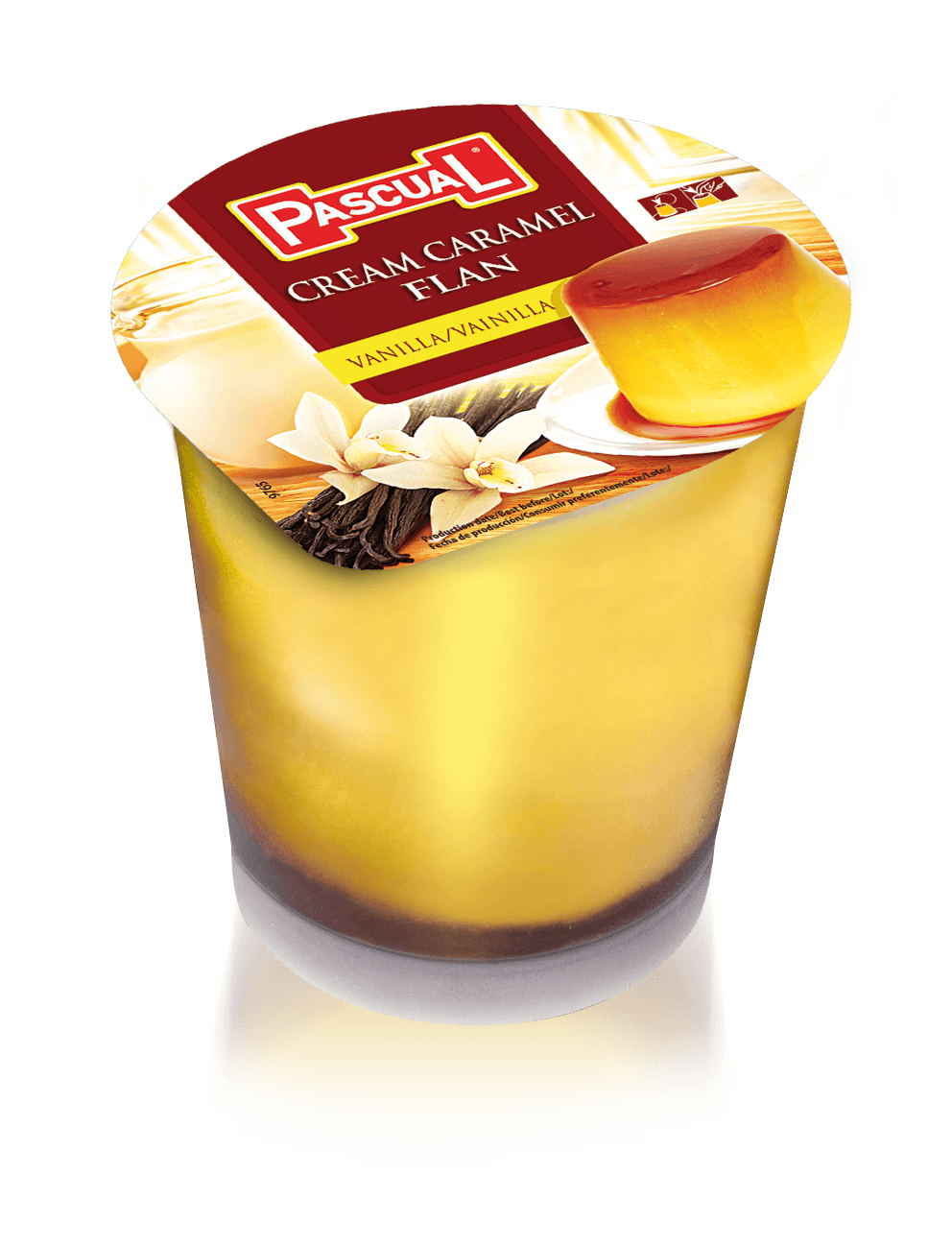 Flan de vainilla - Leche Pascual