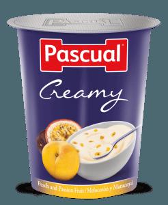 Yogur Creamy Melocotón-Maracuyá