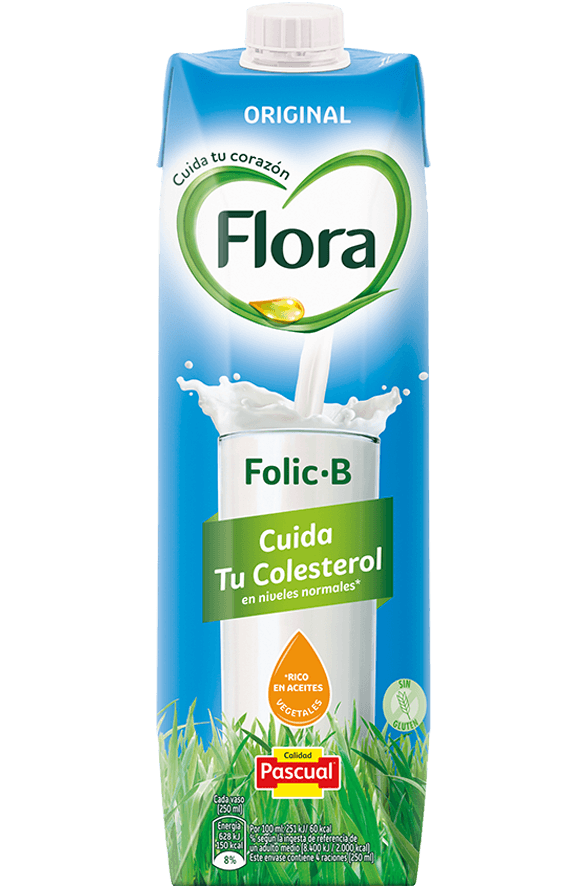 Flora FolicB Original- Leche Pascual