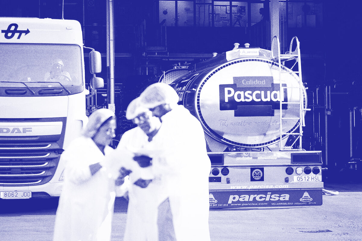 como se produce la leche - Leche Pascual