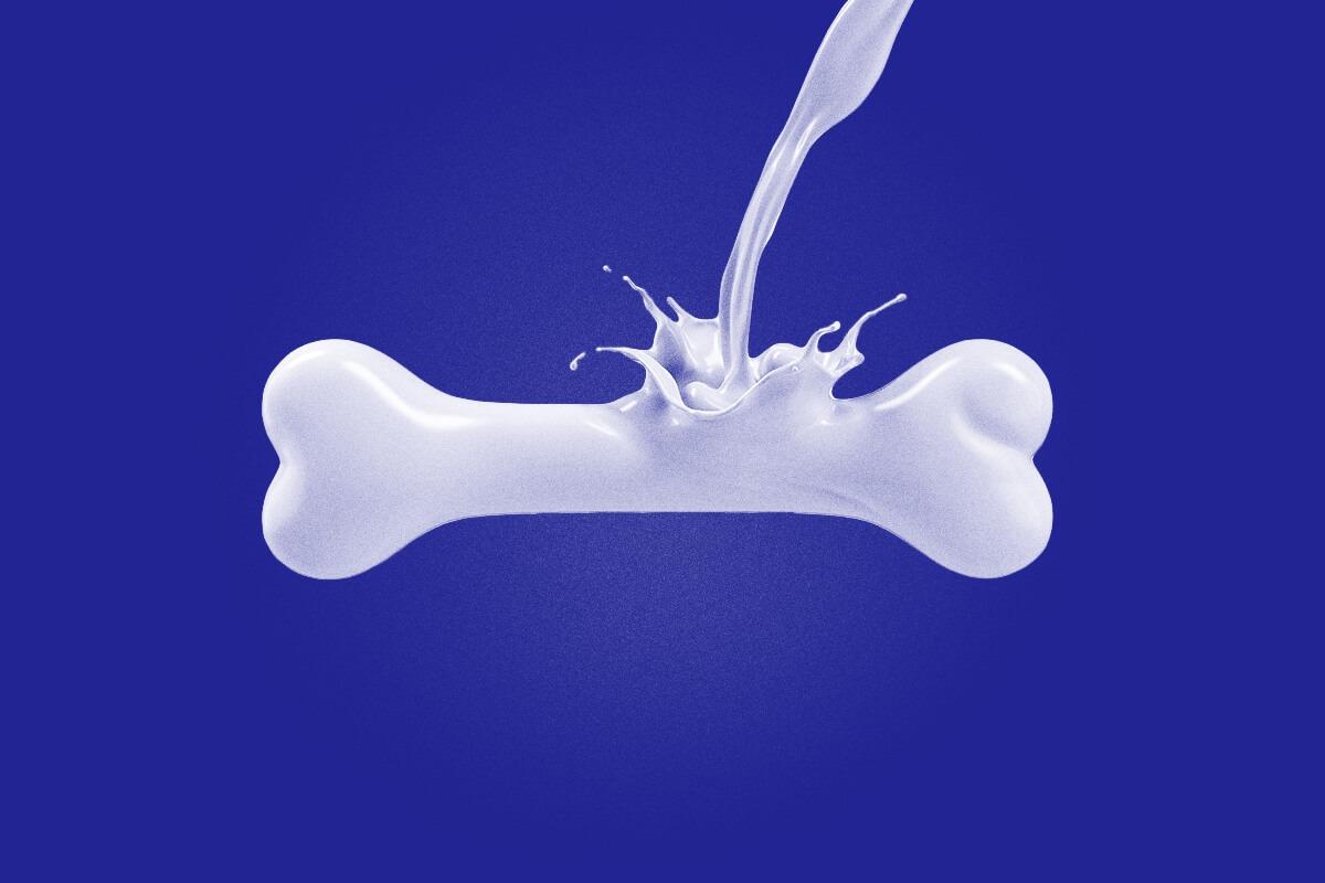 leche calcio salud osea - leche pascual