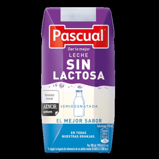 leche sin lactosa 200 ml | Leche Pascual