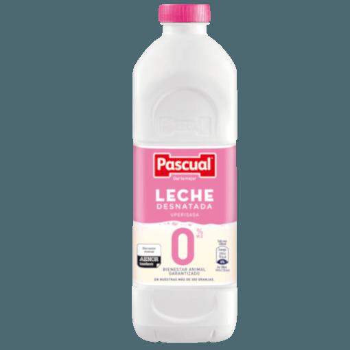 Botella leche Desnatada Pascual - Leche de Bienestar Animal