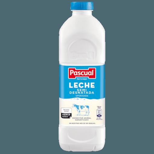 Botella leche Semidesnatada Pascual - Leche de Bienestar Animal