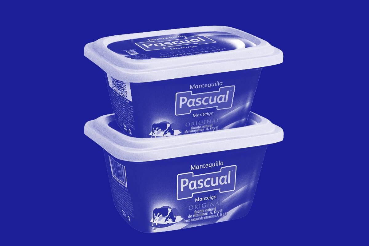 Mantequilla características. Pascual