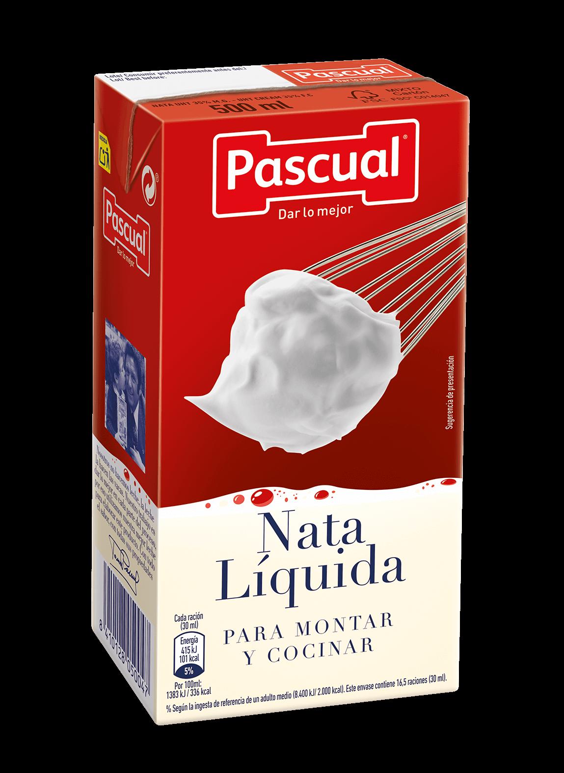 NATA liquida montar cocinar Pascual