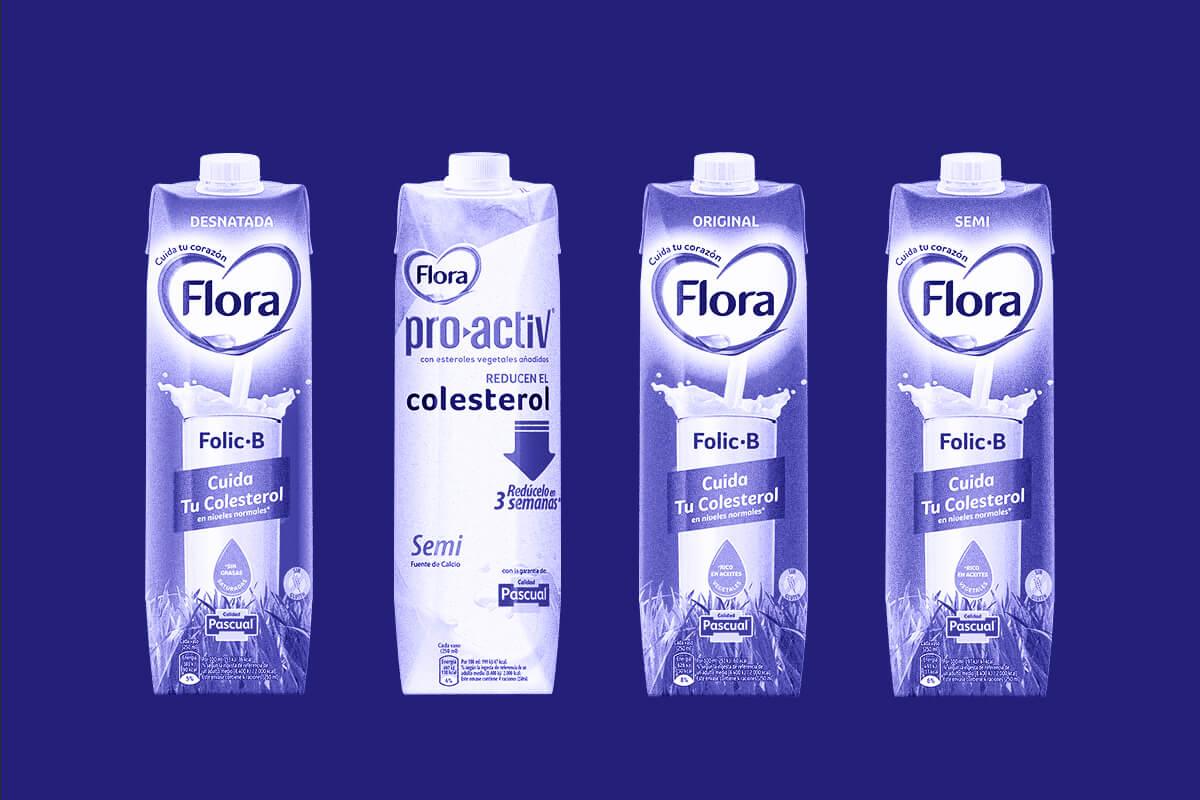 leche flora pascual