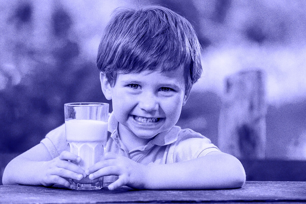 vitaminas de la leche