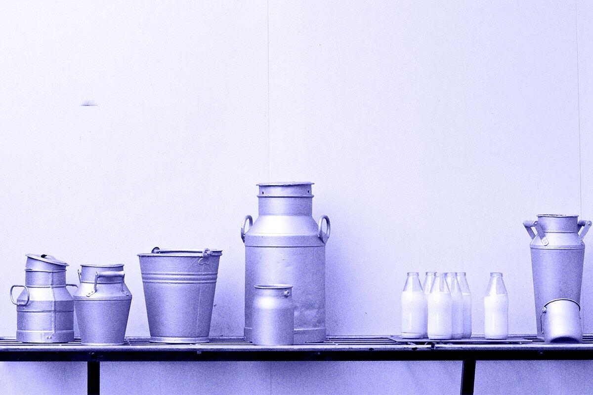 origen del consumo de leche