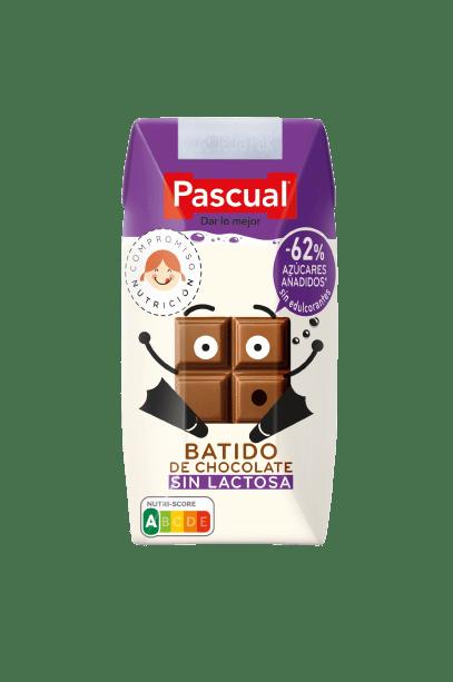 batido de chocolate pascual sin lactosa
