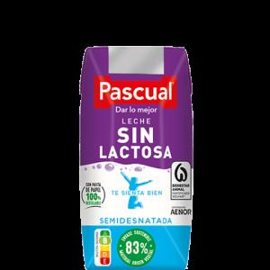 Leche Sin Lactosa Semidesnatada 200 ml